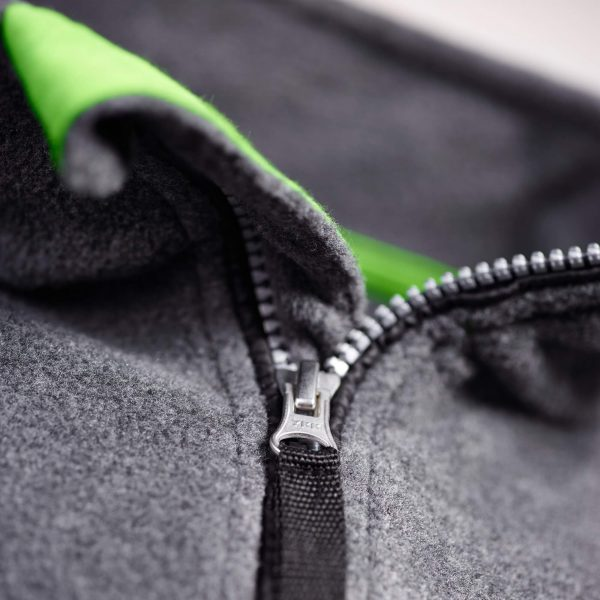 Fleecejacke Detail